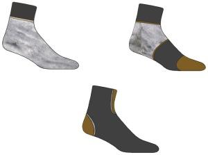 Art Sock Designs