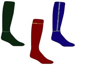 Cultural Dress Sock designs